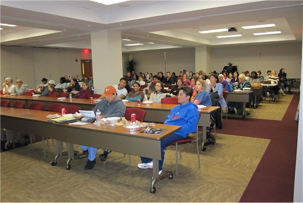 About 80 Gather for First Seminar of 2010